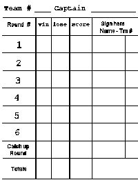 Euchrefun  Print Free Euchre Score Cards  Rotation Sheets  Find
