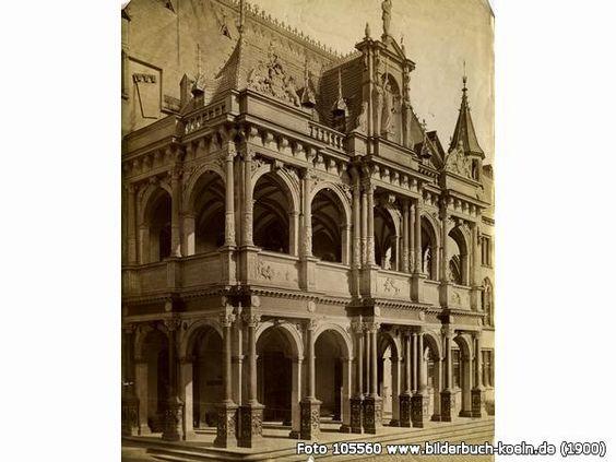 DieRathauslaubeum1900, Rathausplatz, 50667 Köln - Altstadt-Nord (1900)