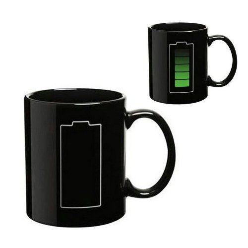 SODIAL (R) Batterie Farbwechsel Thermometer Waerme Tasse Sensitive Porzellan Tee Kaffeetasse on Hipster Shop - Entdecken, teilen und sammeln erstaunliche Produkte mit Hipster-Shop.com