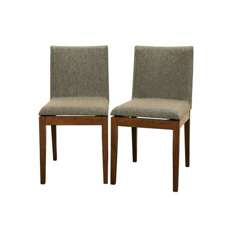 I pinned this Baxton Studio Bryne Dining Chair - Set of 2 from the Bridget Moynahan: Curator for a Cause event at Joss and Main!