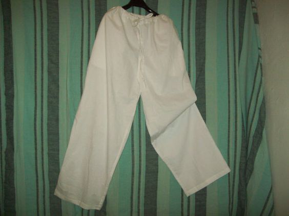 lazo de yoga pantalones 100% algodón por Katinkany2 en Etsy