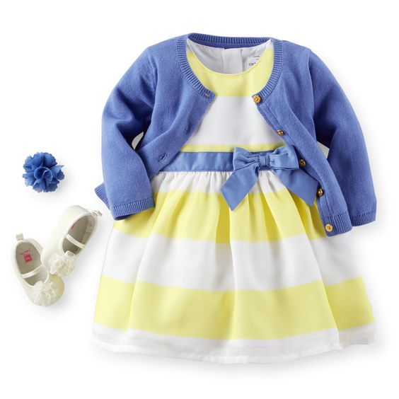 Carter's Baby Girls Dress Spring Tulip