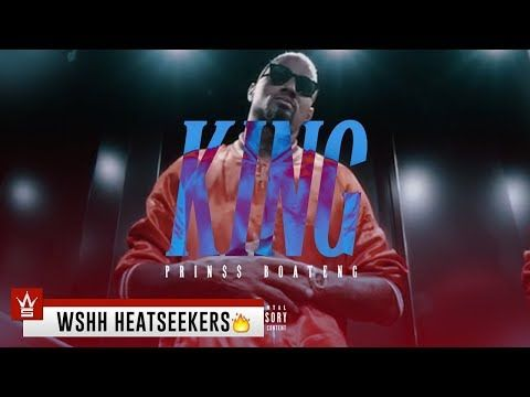 New Video Prin Boateng King Wshh Heatseekers Official Music Video On Youtube New Rap Songs Music Videos Rap Songs