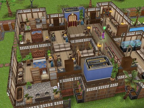 Sims freeplay sims freeplay pinterest dise o de for Casa de diseno sims freeplay