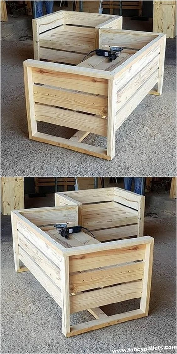 40 Glorious Furniture Ideas With Shipping Pallets Diy Pallet