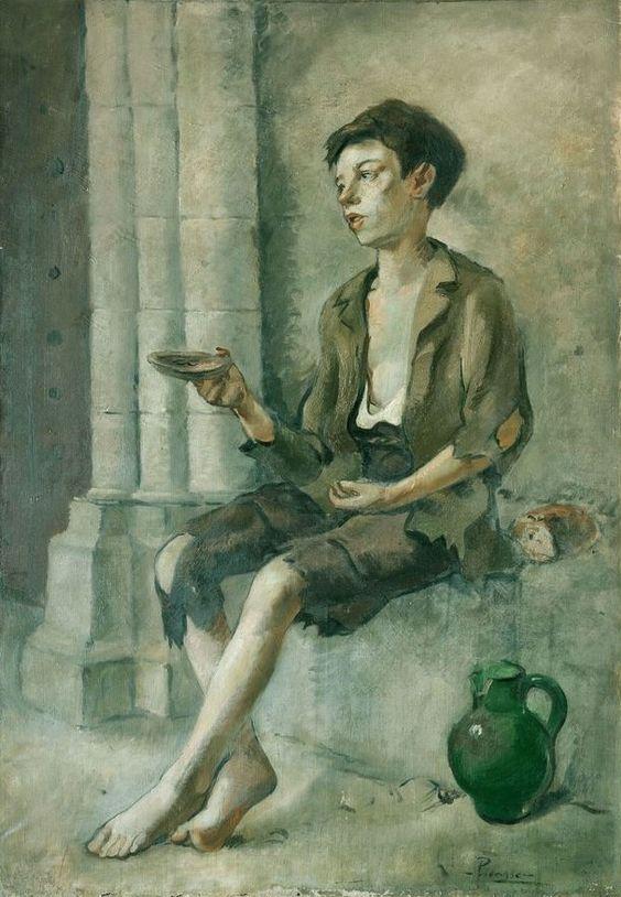 Le mendiant (Petrus Manach), par Pablo Picasso