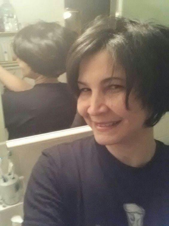 Mi nuevo corte de pelo