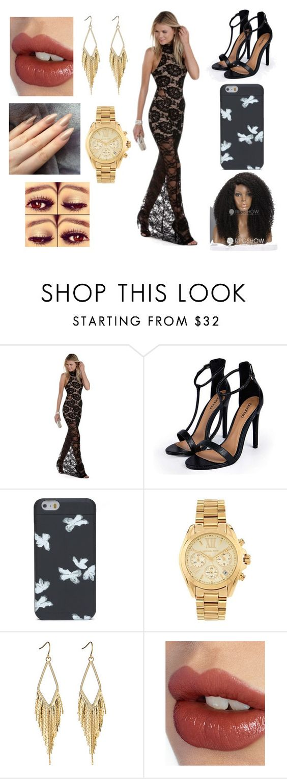 """""""Born to be wild"""" by chloebee-1 ❤ liked on Polyvore featuring Boohoo, Marc by Marc Jacobs, Michael Kors and Charlotte Tilbury"""
