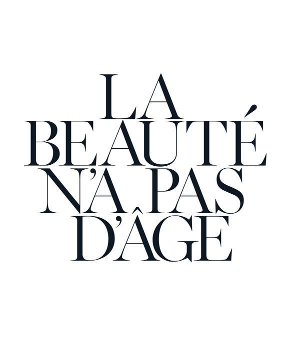 """""""A beleza não tem idade"""""""