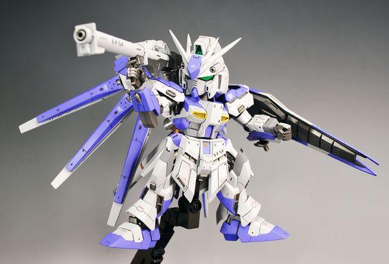 SD RX-93-v2 Hi-v Gundam