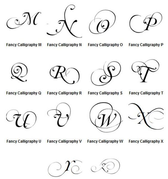 ... | Graffiti Letters A-Z Fancy Calligraphy | Graffiti Alphabet Letters