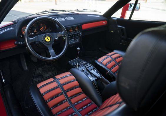 Ferrari 288 Gto Interior Oldtimer Fahrzeuge Traumgarage