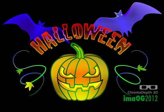 ima0G/2012 Halloween ChromaDepth 3D