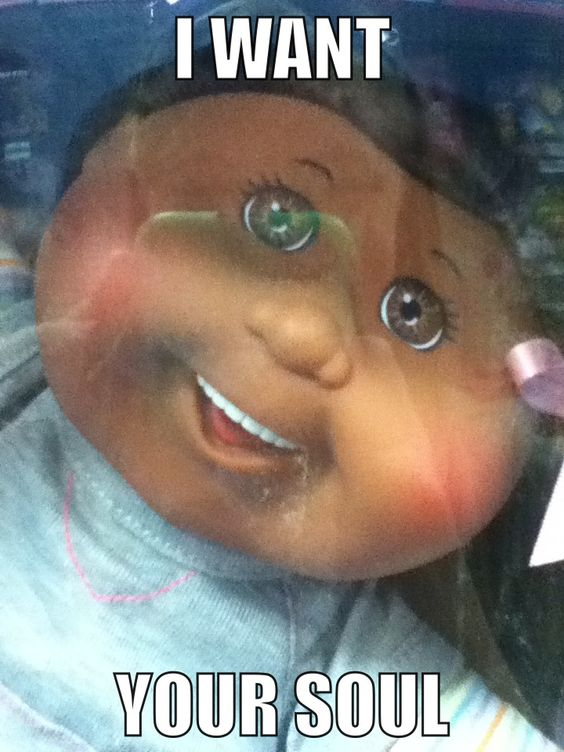 Cabbage patch dolls giving nightmares since forever