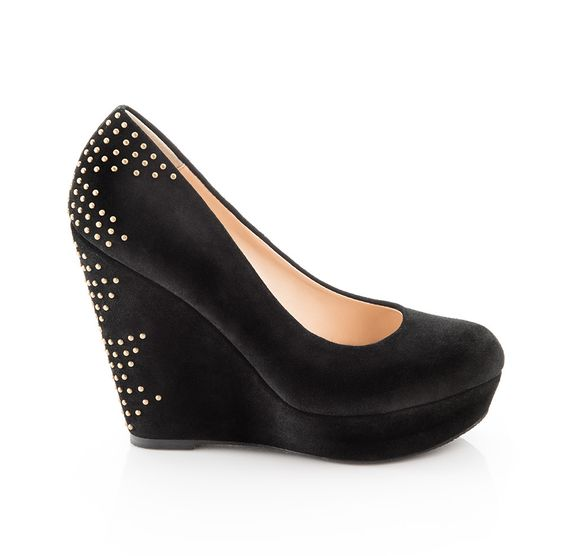 These are so nice; they don't have a super skinny heel, so they would be much easier to walk in!