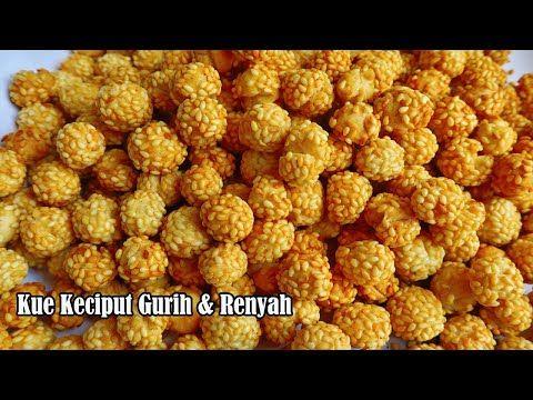 Resep Kue Keciput Wijen Onde Onde Ceplus Renyah Youtube Dog Food Recipes International Recipes Food