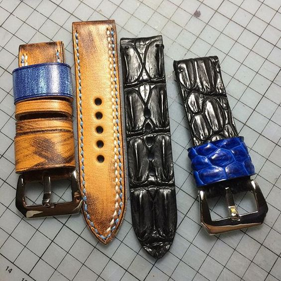 #summerleather# #handmade# #vintage# #leather# #watchstrap# #panerai# #rolex# #ancon# #sevenfriday# #IWC#