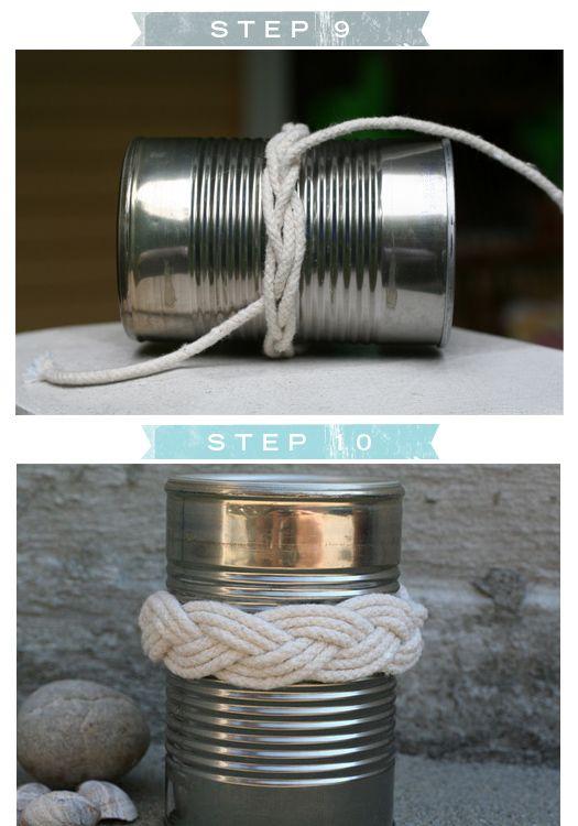 Sailor's knot bracelet tutorial