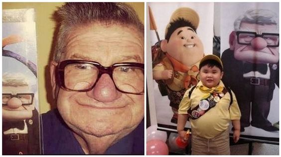 9 Cartoon Characters and Their Real Life Counterparts
