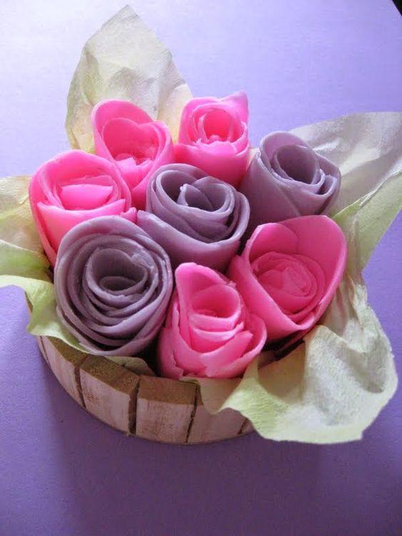 ABruxinhaCoisasGirasdaCarmita: Flores de pano