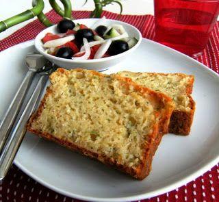 Three Fat Ladies: 4 por 6: Cake de curgetes e queijo S. Jorge + Panna cotta de chocolate com molho toffee