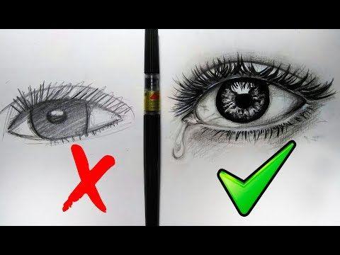 Que Hacer Y No Hacer Al Dibujar Ojos Realistas X2f Sencillos Pasos Youtube Dibujos De Ojos Ojo Realista Lapices Para Dibujar