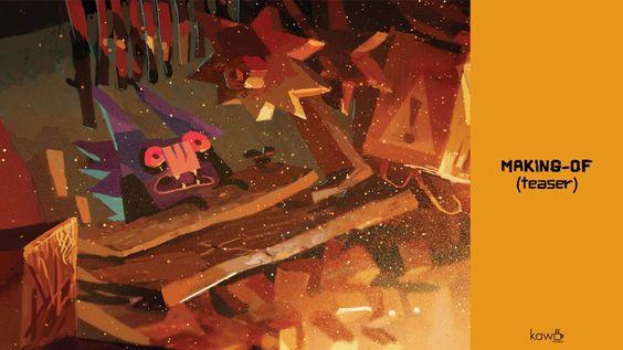 Batz, by Max & Aurél - Le teaser du Making of !