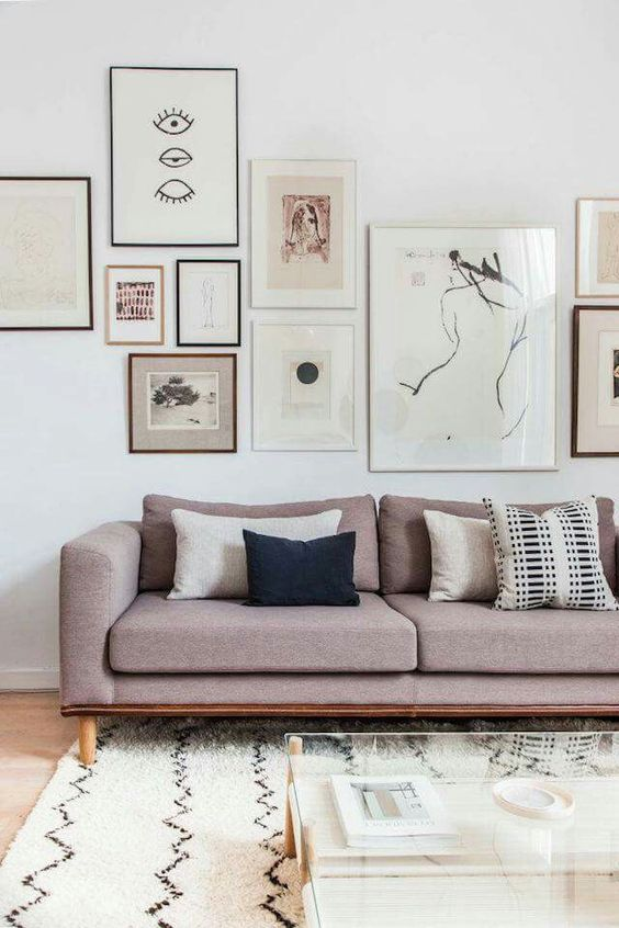 Living room | @andwhatelse