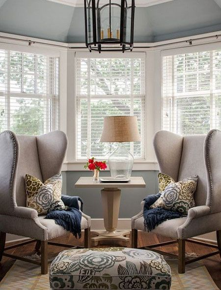 With the addition of a window treatment designed to fit a bay window, you now have the ability to incorporate this area into your floor plan. You can use the space of a bay window to set up a cosy seating area that lets you soak up the warmth during the cooler months of the year.