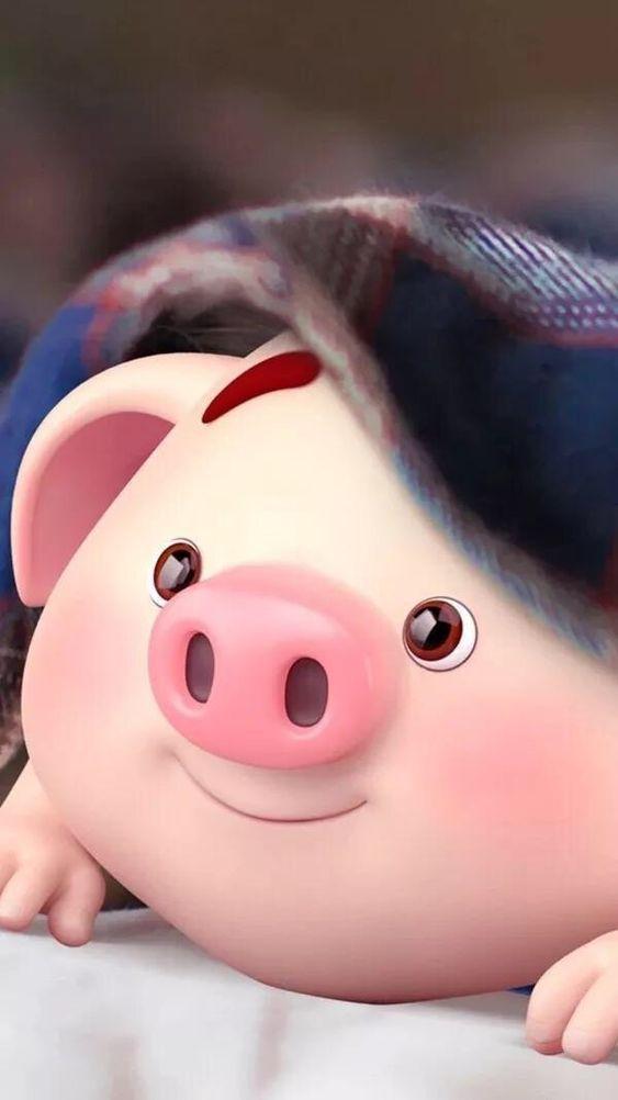 Wallpaper Wallpapercute Wallpapercantik Wallpaperhp Hp Iphone Samsung Night Malam Baby Pigs Pig Wallpaper Cute Pigs