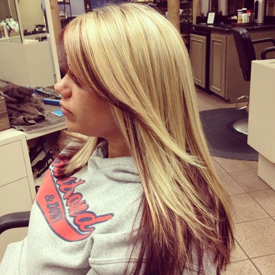 Astounding Cool Blonde Highlights Cool Blonde And Blonde Highlights On Pinterest Hairstyle Inspiration Daily Dogsangcom