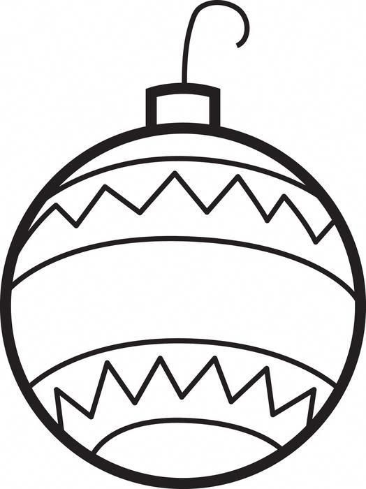 Christmas Ornaments Coloring Page 2 Christmasornaments Omaľovanky Vianoce Sablony