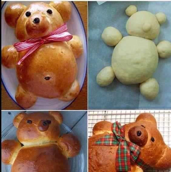 Pão urso