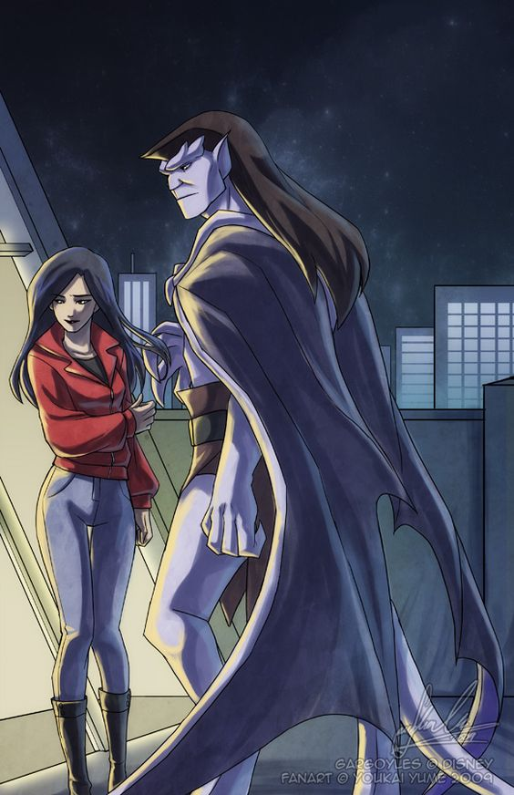 Read this disney gargoyles goliath and elisa question