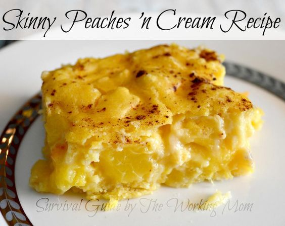 Skinny Peaches n Cream #Recipe & 17 @Foodie Healthy Dessert Collection! http://tinyurl.com/lyhfgs8  #weightloss #diet #ad pic.twitter.com/ctyOcFIuTn