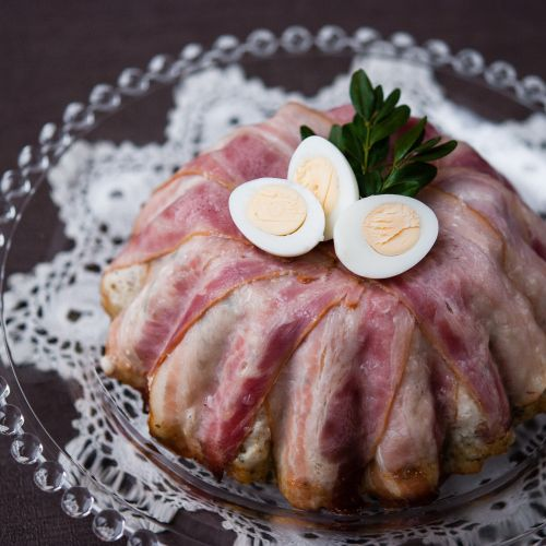 Lepszy Smak: Wielkanocna terrina/#pasztet w formie babki