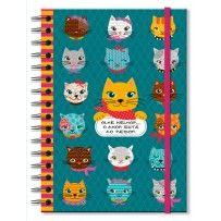 Caderno clássico Gatinhos divertidos