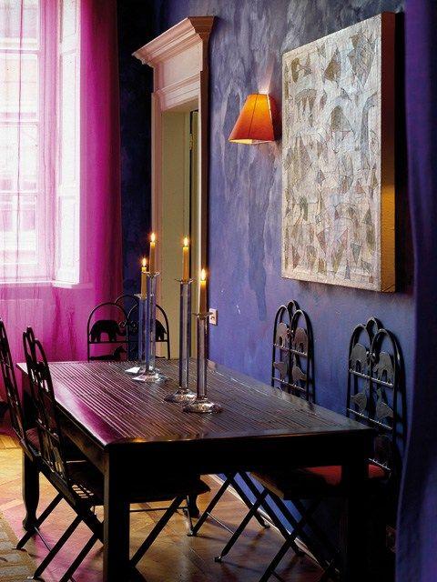 Colori pareti arancione colori pareti come dipingere le - Dipingere le pareti di casa ...