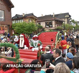 Uma temporada mágica de Natal, com mais de 500 apresentações entre shows, desfiles, paradas, concertos, teatro, música e muito mais.