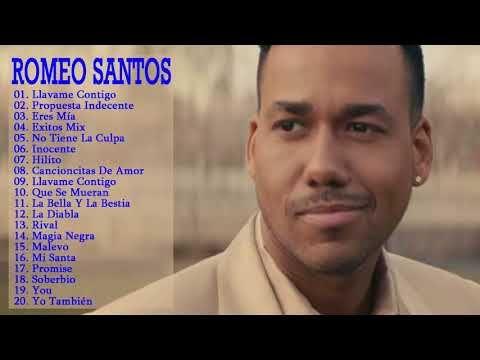 Youtube Canciones De Romeo Santos Romeo Santos Musica En Español
