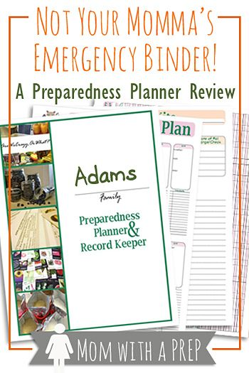 Not Your Momma's Emergency Binder: A Preparedness Planner Review