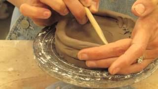 coil clay construction - YouTube