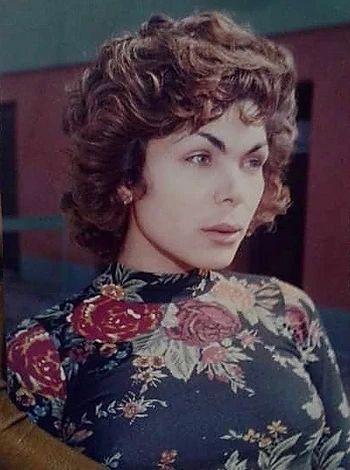 Marcela la Rompe Coche a los 20 años. Archivo de Marcela la Rompe Coche