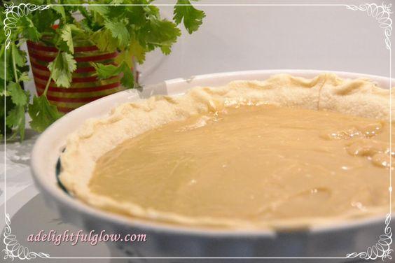 Butterscotch pie - my Grandmas recipe