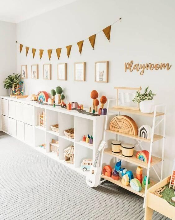 Looking For Kid Playroom Organization Ideas Check Out Our Best Playroom Decor Guide And Get Insigh Kids Play Room Organization Toddler Playroom Kid Room Decor