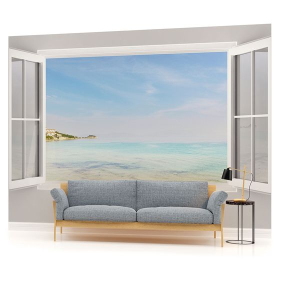 fototapete wandbild fototapeten bild tapete meer strand landschaft w1105veve eur 29 90. Black Bedroom Furniture Sets. Home Design Ideas