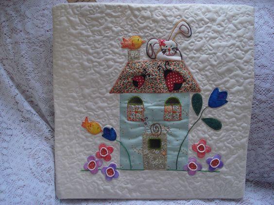 https://flic.kr/p/6YzAVX | 185 | Fiz estas almofadas de casinha, inspirada neste blog: littlehousedenoel.blogspot.com/