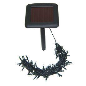 Solar powered LED lights - 100 light string - for the backyard trellis. Home and Garden ...