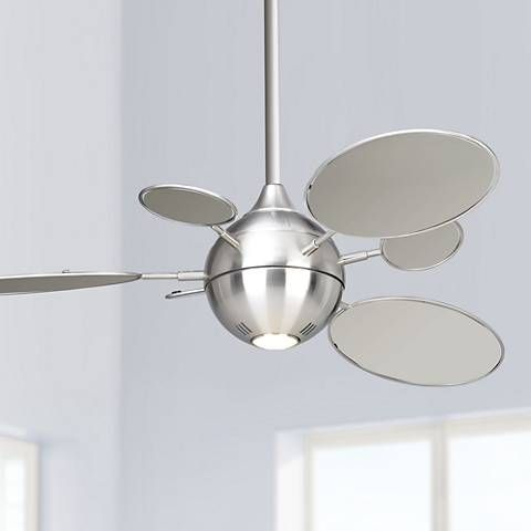 54 Minka Aire Cirque Brushed Nickel Ceiling Fan 95967 Lamps