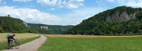 Die kleine Radler-Oase an der Donau - uinterwegs zwischen Tuttlingen und Sigmaringen. | Foto: Drom Balan